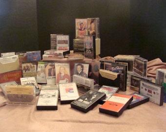 Retro  52 Piece Audio Cassette Collection