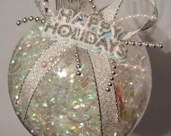Christmas Ornament - Happy Holidays