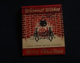 Vintage Giant Feature Matchbook