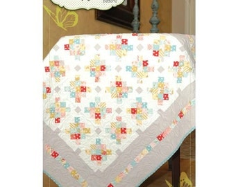 Pattern - Mini Granny Quilt by Butterfly Kisses - Quilt pattern