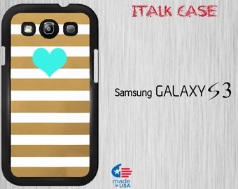 Galaxy S3 Case Galaxy S3 Samsung Cover Samsung Galaxy S3 case phone case galaxy s3 Samsung s3 case Galaxy s3   Turquoise Heart