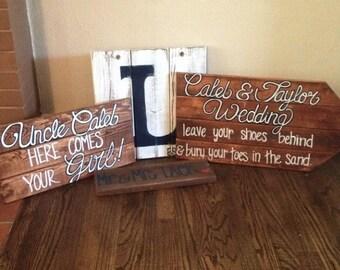 Wedding Signs & Decor (3 pieces)