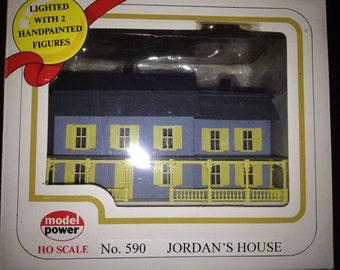 Model Power Jordan's House #590 Built Up Building See original listing