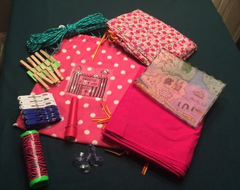 Deluxe Girl Fort Kit - All the Supplies to Build Your Own Fort