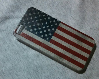 American flag IPhone 5/5s hard case