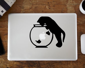 Fish Bowl MacBook Decal
