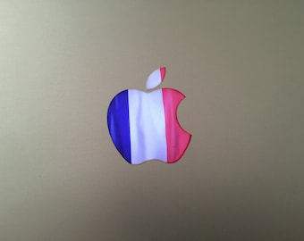France / French Flag MacBook Decal