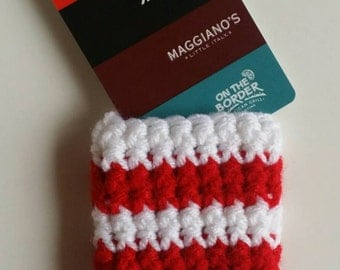 Candy Cane Gift Card Holder
