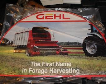 Vintage GEHL Advertising Signs Farming