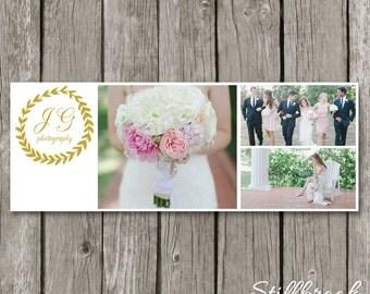 Wedding Facebook Timeline Template for Photographers - Photography Facebook Timeline Cover Photo - Facebook Photo Header Banner - TC38