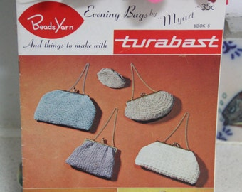 Vintage Crochet Bag Patterns - Myart - Turabast Book No 8