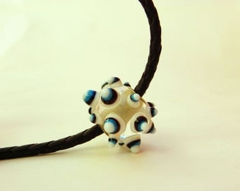 """Handmade Bead """"Virus"""" series - Murano glass - Lampwork pendant"""