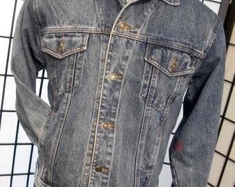 Denim Express men's vintage jean jacket