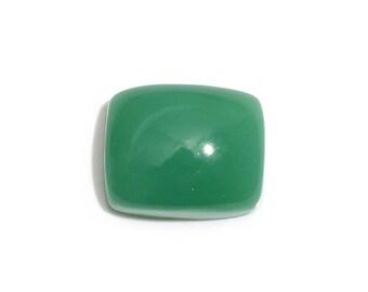 Green Chrysoprase Cushion Cabochon Loose Gemstone 11x9mm TGW 3.37 cts.