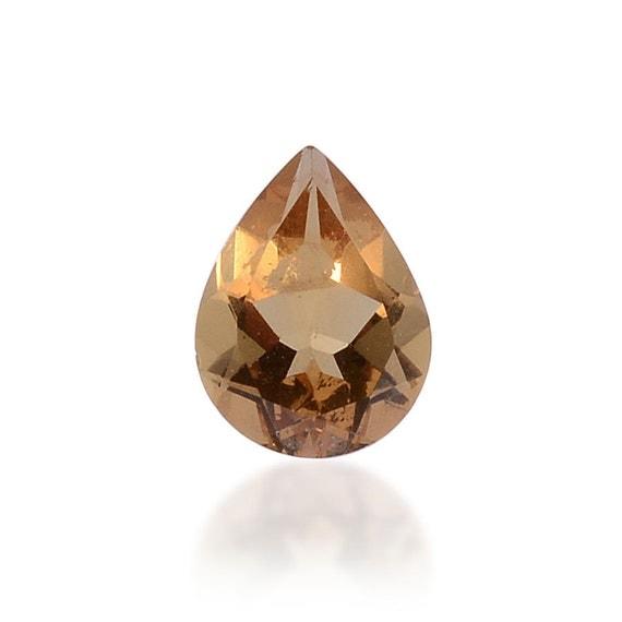 alexite autumn synthetic color change gemstone pear cut