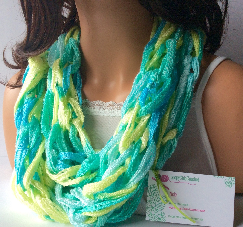 lightweight summer scarf lightweight scarf by loopychiccrochet