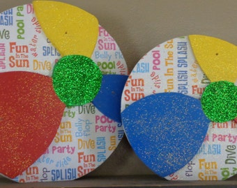 Beach Balls, Summer Decor, Summer Wood Crafts