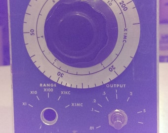 Vintage Waveforms Model 510B Oscillator- For Parts