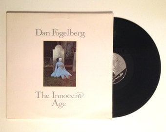 20% OFF SALE Vinyl Album Dan Fogelberg The Innocent Age LP Record 1981 Lost In The Sun The Reach Ghosts Empty Cages