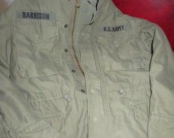 vintage origional period army field coat