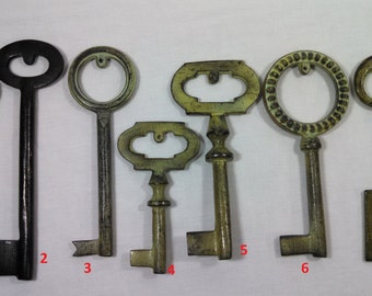 Over Sized Skeleton Key Home Decor/Supplies Wall Hanging