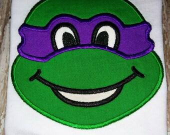 Boys Girls Teenage Mutant Ninja Turtles TMNT Boutique Birthday Party T-Shirt Shirt Mikey Donatello Raphael Leo!! Sizes 2 ,3, 4, 5, 6, 7, 8