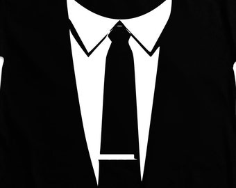 Tux T-Shirt - funny witty t-shirt Tuxedo Tee Top Shirt by Teesandthankyou