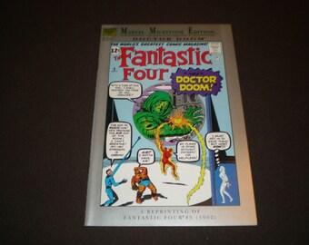 Marvel Milestone Edition 5, (1991), Fantastic Four 5 Reprint (1962), Marvel DF1