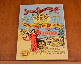 1979 Reproduction of 1909 Sears & Roebuck Consumer Guide