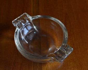 Ashtray Vintage Art Deco 1930's Glass