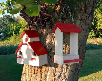 Playhouse and Feeders for birds