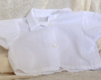 Vintage White Doll Shirt