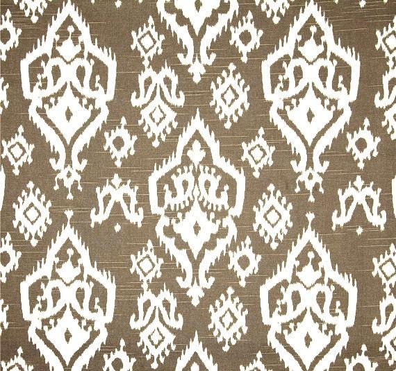 Ikat Home Decor Fabric