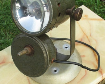 Antique General Electric Spot Light Steampunk