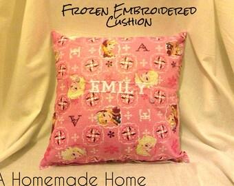 Frozen Cushions Childrens Frozen Themed Fabric Frozen Bedroom Decor