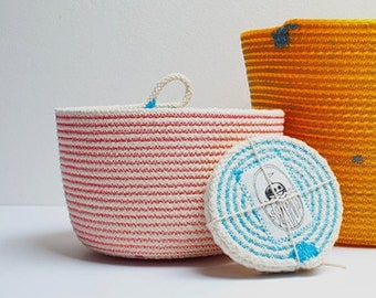 Medium Cotton Cord Basket