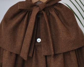 Coat girl...Baby Girl Jacket.. Little Girl..Winter Jacket..Brown..Size-4T,8
