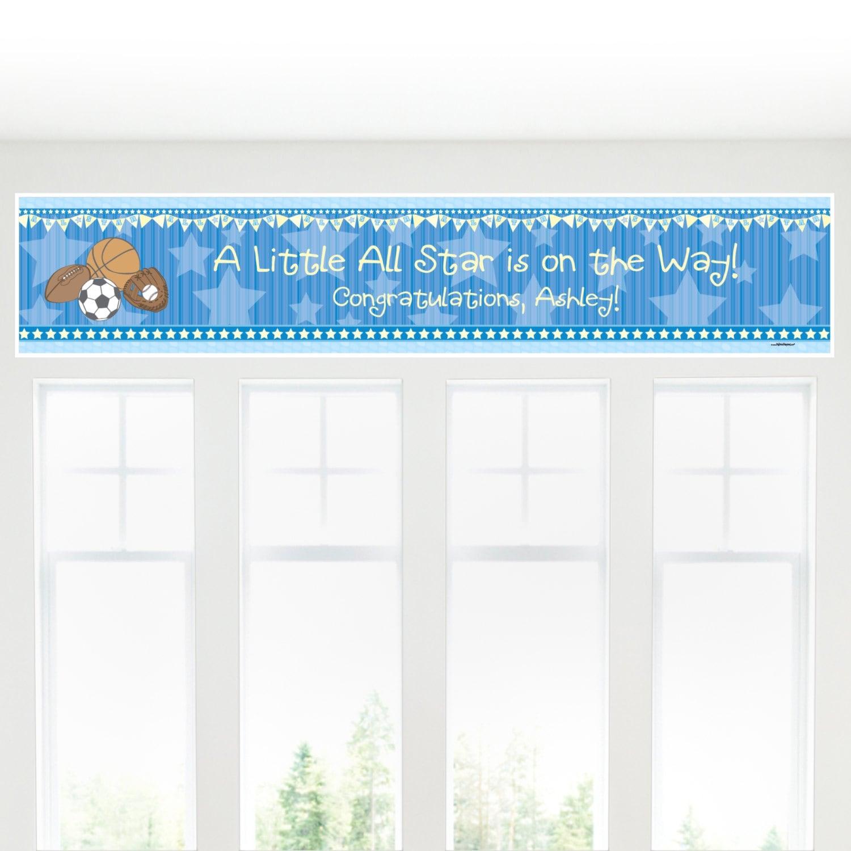 Baby Shower Custom Banners
