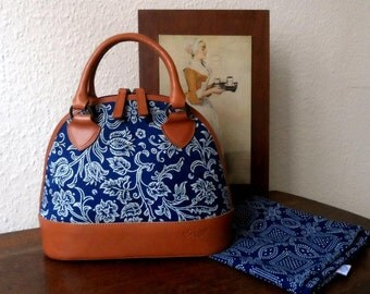 Dilians HANDPRINTED leather handbag JITKA2 F051001