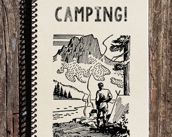 Id Rather Be Camping - Camping Journal - Camping Notebook - Camp Lover - Camp Fire
