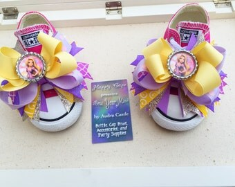 Rapunzel Tangled Shoe Toppers
