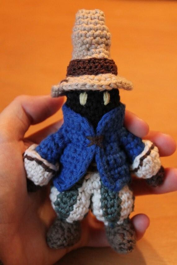 Amigurumi Vivi Free Patterns : Items similar to Final Fantasy Vivi Amigurumi Crochet ...