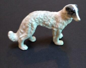 Ceramic wolf hound