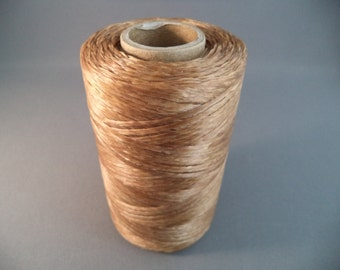 70 Lb. Test 200 Yards of Natural Artificial Sinew for Pow Wow, Medieval, Renaissance Crafts and Events