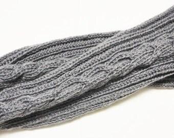 Legwarmers grey