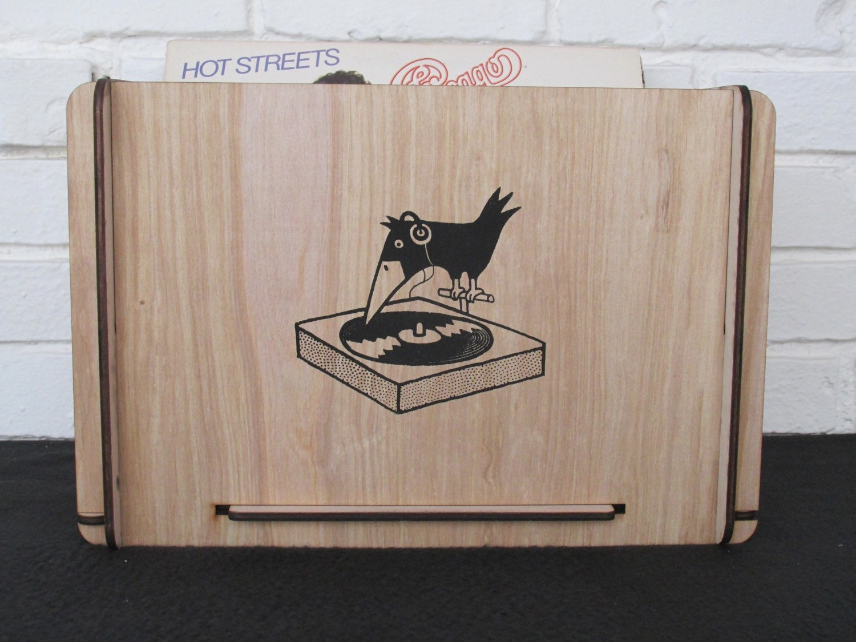 Great gift vinyl lp storage crate by romanyhouse on etsy - Meuble rangement vinyl ...