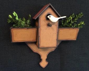Decorative Bird House-Bird House Planter