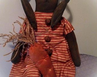 Primitive Handmade Easter Bunny Rabbit