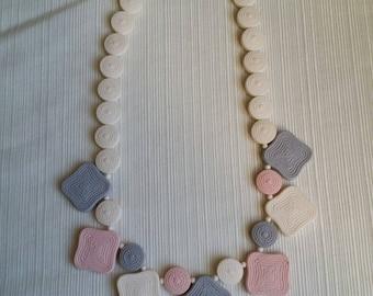 Vintage Pastel Necklace