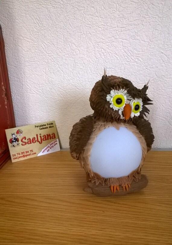 PILOT led OWL in porcelain cold saeljana